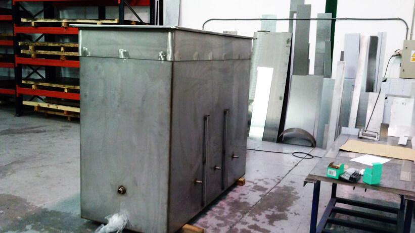 Instalación de cuba de desengrase